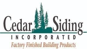 Richards Building Supply, Products, Siding, Cedar Siding Logo
