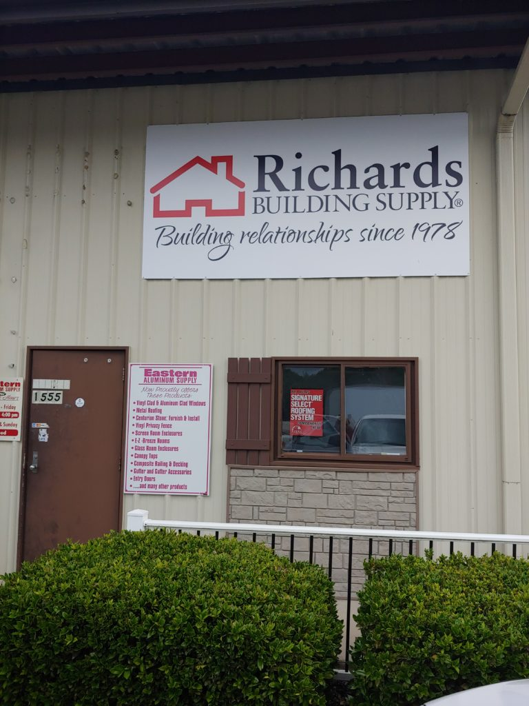Richards Building Supply Fayetteville NC