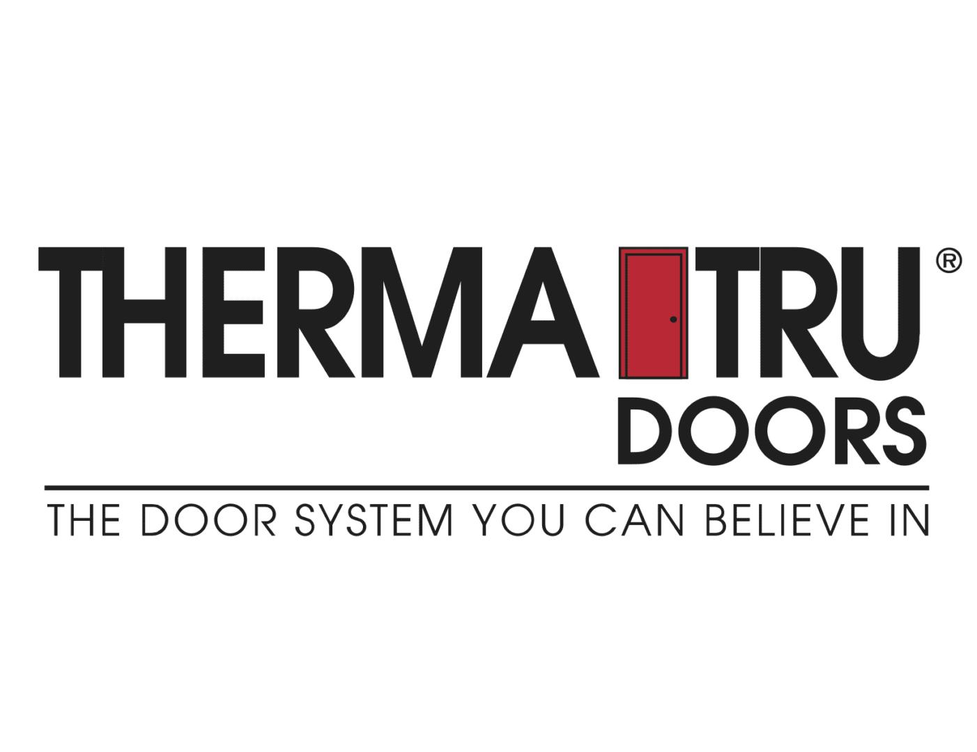 Richards Building Supply, Products, Doors, ThermaTru Door Logo