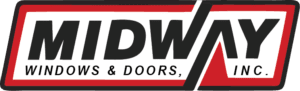 Richards Building Supply, Products, Windows, Doors, Midway Windows and Doors Logo