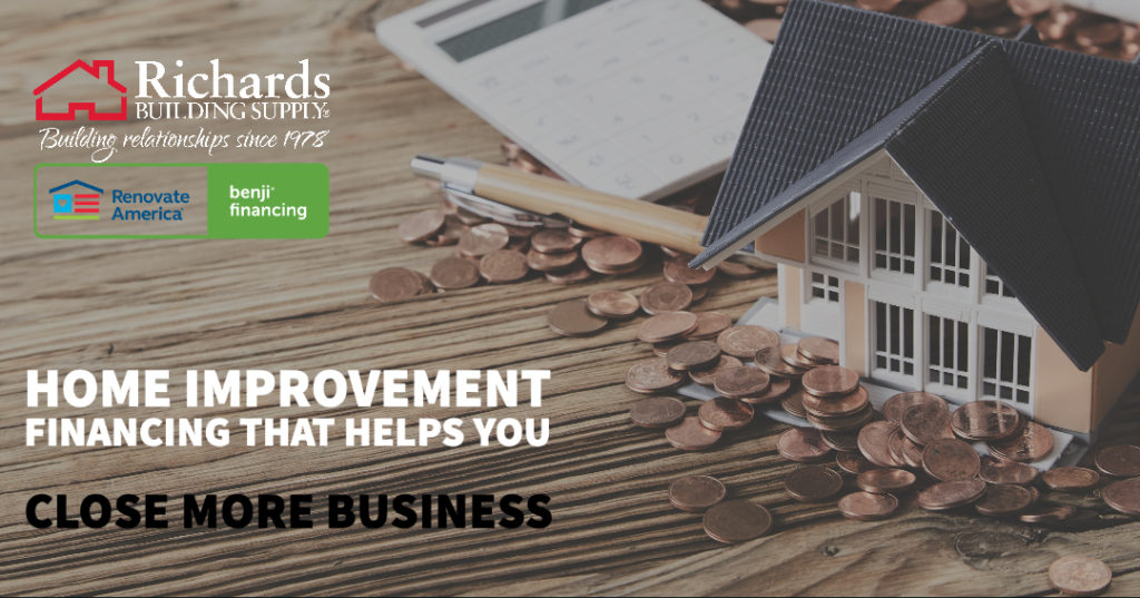 Home Improvement Financing Richards Building Supply