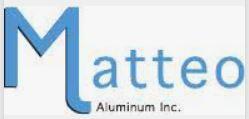 Richards Building Supply, Products, Soffit & Rainware, Matteo Aluminum Logo