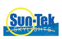 Richards Building Supply, Products, Windows, Sunt-Tek Skylights Logo